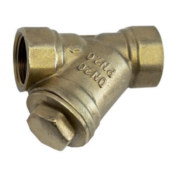 PN20 Brass Y Strainer