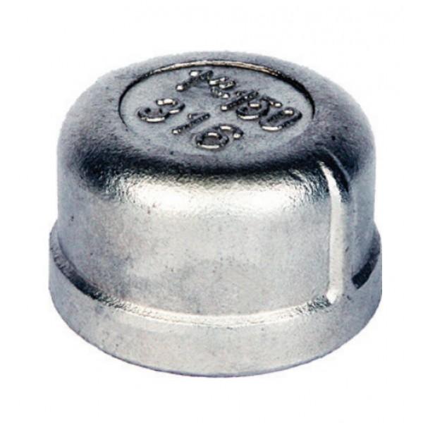 BSP Round Cap 316 to ISO 4144