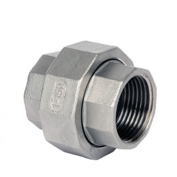 BSP Union (Cone Seat) 316 to ISO 4144