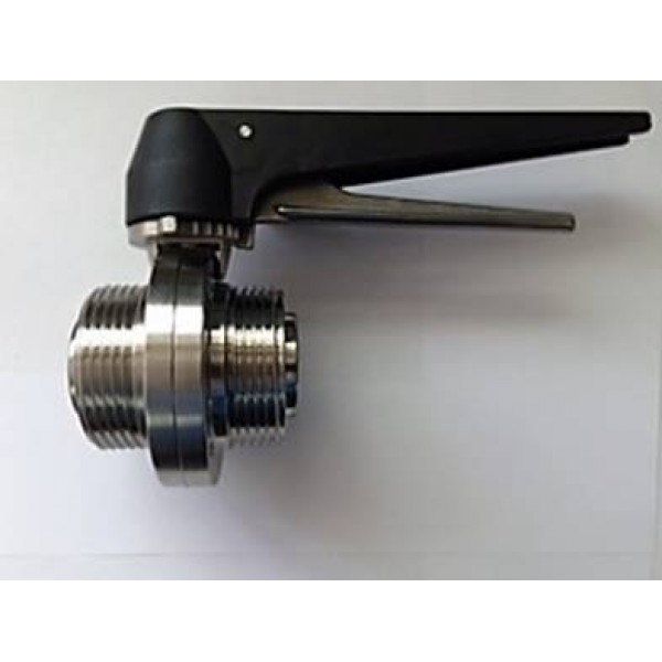 RJT Male/Male butterfly Valve 316 to BS1864