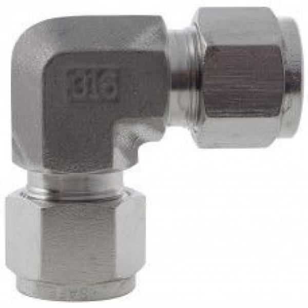 Compression Fittings to DIN2353 (Elbow) 316