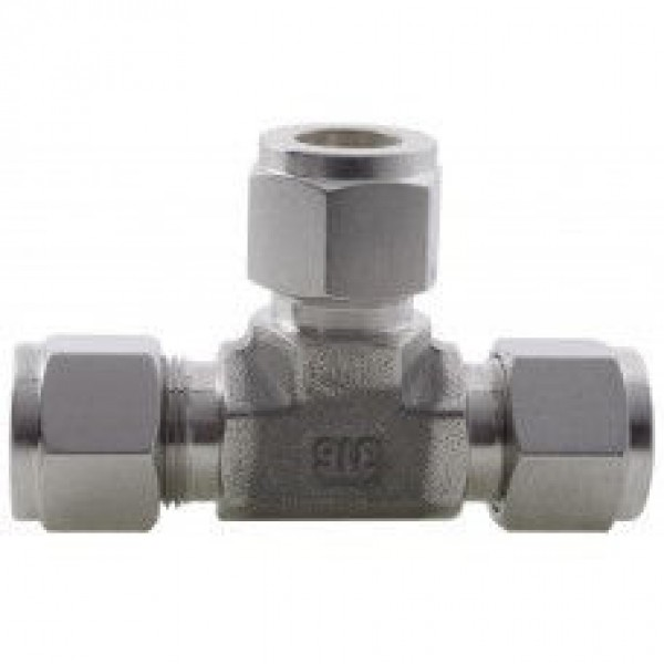 Compression Fittings to DIN2353 (Tee) 316