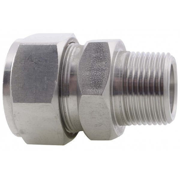 Male Connector BSPT Metric